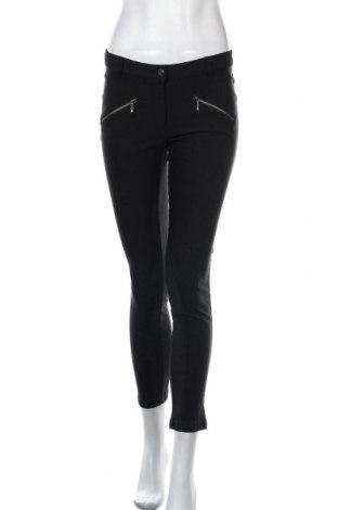 Дамски панталон Up 2 Fashion, Размер S, Цвят Черен, 77% вискоза, 20% полиамид, 3% еластан, Цена 6,56лв.