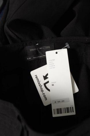 Дамски панталон Urban Outfitters, Размер XS, Цвят Черен, 70% вискоза, 27% полиамид, 3% еластан, Цена 19,14лв.
