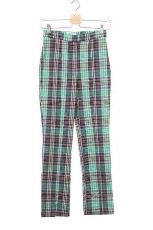 Дамски панталон Urban Outfitters, Размер XS, Цвят Многоцветен, 75% вискоза, 22% полиестер, 3% еластан, Цена 59,25лв.