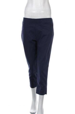 Дамски панталон W. Lane, Размер M, Цвят Син, Памук, полиамид, еластан, Цена 14,70лв.