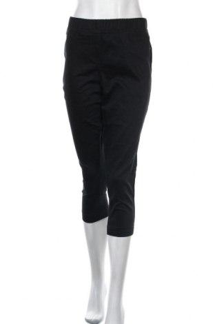 Дамски панталон W. Lane, Размер M, Цвят Черен, Памук, полиестер, еластан, Цена 13,65лв.