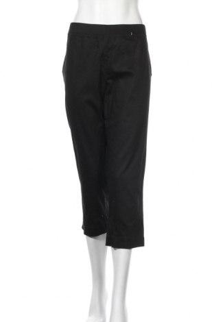 Дамски панталон W. Lane, Размер XL, Цвят Черен, 69% памук, 28% полиестер, 3% еластан, Цена 19,95лв.
