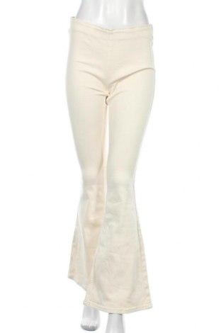 Дамски панталон We The Free by Free People, Размер M, Цвят Екрю, 93% памук, 6% полиестер, 1% еластан, Цена 159,00лв.