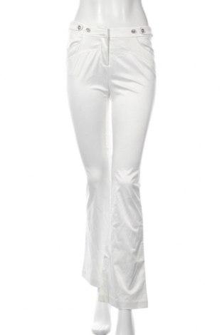 Дамски панталон Yedina, Размер M, Цвят Бял, 80% памук, 20% полиестер, Цена 8,51лв.