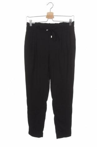 Дамски панталон Zara, Размер S, Цвят Черен, Полиестер, Цена 11,34лв.