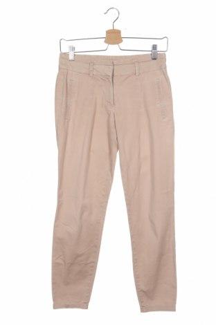 Дамски панталон Zara, Размер XS, Цвят Бежов, Цена 10,28лв.