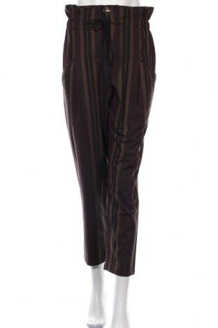 Дамски панталон Zara, Размер S, Цвят Многоцветен, 67% полиестер, 29% вискоза, 4% еластан, Цена 9,98лв.