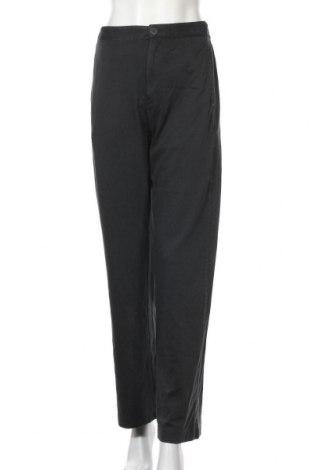 Дамски панталон Zara, Размер S, Цвят Сив, 98% памук, 2% еластан, Цена 36,75лв.