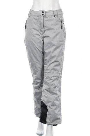 Дамски панталон за зимни спортове Crivit, Размер M, Цвят Сив, Полиестер, Цена 24,26лв.
