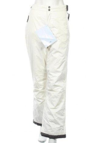 Дамски панталон за зимни спортове TCM, Размер XL, Цвят Бял, Полиестер, Цена 20,67лв.