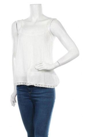 Γυναικείο αμάνικο μπλουζάκι Cream, Μέγεθος M, Χρώμα Λευκό, Τιμή 22,20€