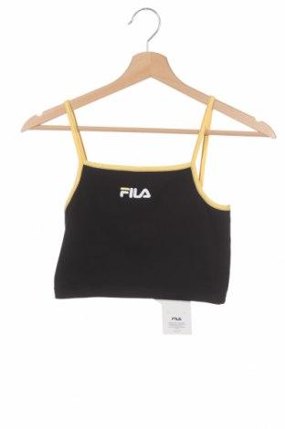 Tricou de damă Fila, Mărime XS, Culoare Negru, 95% bumbac, 5% elastan, Preț 96,22 Lei