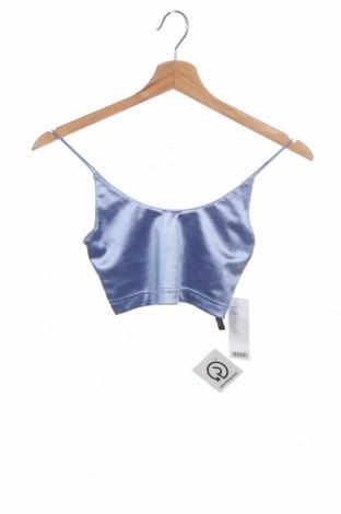Dámské tilko  Urban Outfitters, Velikost XS, Barva Modrá, 90% polyester, 10% elastan, Cena  124,00Kč