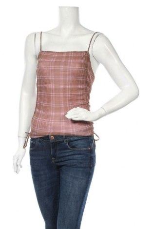Γυναικείο αμάνικο μπλουζάκι Urban Outfitters, Μέγεθος M, Χρώμα Καφέ, Πολυαμίδη, Τιμή 2,01€