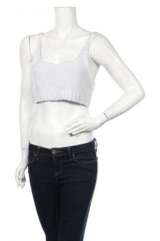 Tricou de damă Urban Outfitters, Mărime L, Culoare Albastru, 94% poliester, 5% poliamidă, 1% elastan, Preț 13,22 Lei