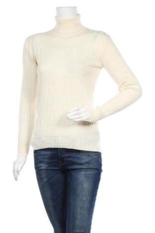 Дамски пуловер, Размер M, Цвят Екрю, Вълна, Цена 9,72лв.