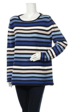 Дамски пуловер Adagio, Размер XL, Цвят Многоцветен, 50% памук, 50% полиакрил, Цена 28,35лв.