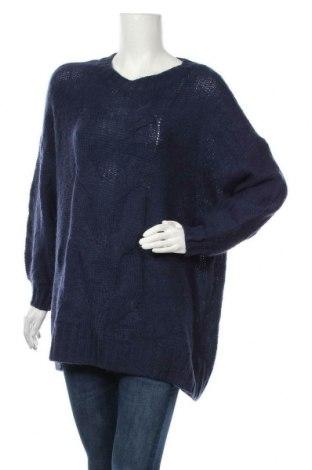 Дамски пуловер Aerie, Размер M, Цвят Син, 40% полиамид, 35% акрил, 25% вълна, Цена 15,45лв.