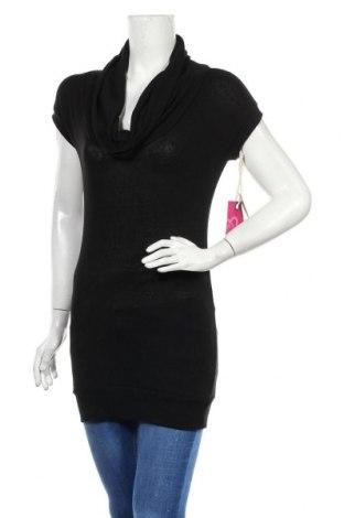 Дамски пуловер Ardene, Размер L, Цвят Черен, 60% памук, 35% вискоза, 5% еластан, Цена 8,50лв.