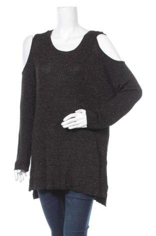 Дамски пуловер Autograph, Размер L, Цвят Черен, 74% вискоза, 16% полиестер, 10% метални нишки, Цена 8,61лв.