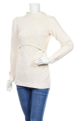 Дамски пуловер Boob, Размер S, Цвят Екрю, Памук, Цена 26,78лв.