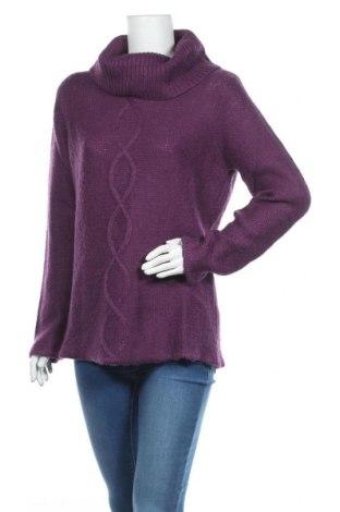 Дамски пуловер Estelle, Размер L, Цвят Лилав, Акрил, Цена 18,90лв.