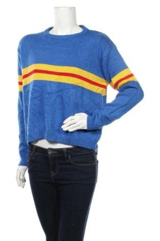 Γυναικείο πουλόβερ Everybody Talks, Μέγεθος M, Χρώμα Μπλέ, Ακρυλικό, Τιμή 5,27€