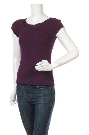 Дамски пуловер INC International Concepts, Размер L, Цвят Лилав, 64% вискоза, 36% полиамид, Цена 45,36лв.