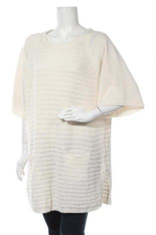 Дамски пуловер Estelle, Размер L, Цвят Бял, Акрил, Цена 18,48лв.
