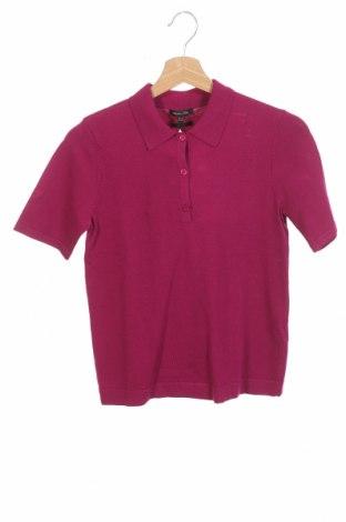 Дамски пуловер Massimo Dutti, Размер XS, Цвят Розов, 58% вискоза, 40% полиамид, 2% еластан, Цена 38,27лв.