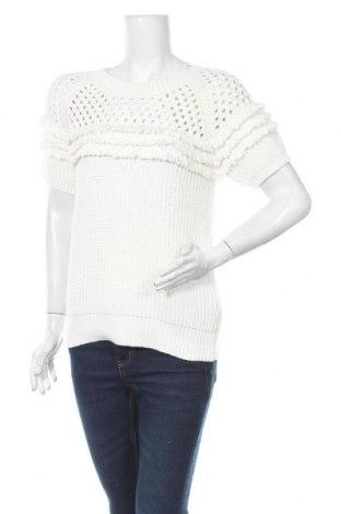 Дамски пуловер Massimo Dutti, Размер M, Цвят Екрю, Памук, Цена 36,49лв.