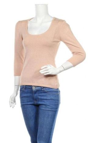 Дамски пуловер Saint Tropez, Размер M, Цвят Екрю, 82% вискоза, 18% еластан, Цена 13,98лв.