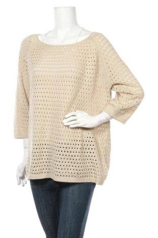 Дамски пуловер Urban By Venca, Размер XXL, Цвят Бежов, Цена 25,94лв.