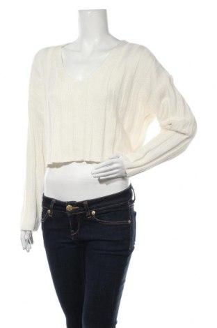 Pulover de femei Urban Outfitters, Mărime S, Culoare Ecru, 60% bumbac, 40%acril, Preț 181,91 Lei