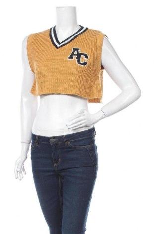 Pulover de femei Urban Outfitters, Mărime XS, Culoare Bej, Bumbac,acril, Preț 126,15 Lei