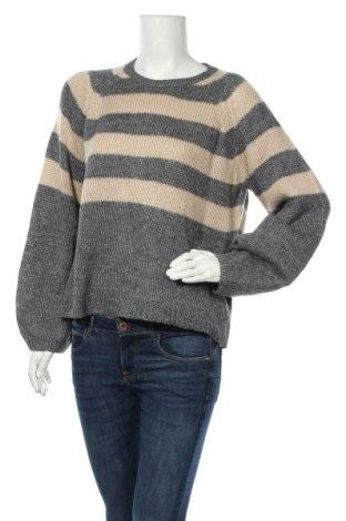 Дамски пуловер Vrs Woman, Размер L, Цвят Сив, 100% полиакрил, Цена 9,10лв.
