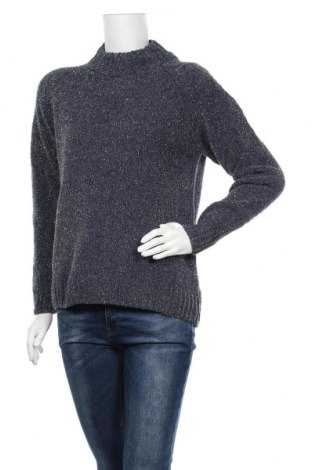 Дамски пуловер Vrs Woman, Размер S, Цвят Син, 69% полиамид, 15% акрил, 16% полиестер, Цена 10,68лв.