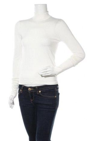 Дамски пуловер Zara, Размер M, Цвят Бял, 83% вискоза, 17% полиамид, Цена 18,20лв.