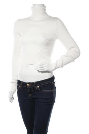 Дамски пуловер Zara, Размер L, Цвят Бял, 50% вискоза, 30% полиестер, 20% полиамид, Цена 14,75лв.