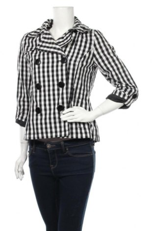 Γυναικεία καμπαρντίνα H&M Divided, Μέγεθος M, Χρώμα Μαύρο, 65% πολυεστέρας, 35% βαμβάκι, Τιμή 23,45€