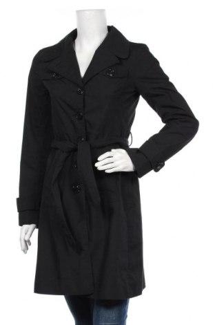 Γυναικεία καμπαρντίνα H&M Divided, Μέγεθος S, Χρώμα Μαύρο, 65% πολυεστέρας, 35% βαμβάκι, Τιμή 28,39€