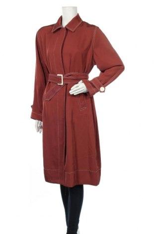 Dámský přechodný kabát  Massimo Dutti, Velikost L, Barva Červená, Acetát , Cena  1162,00Kč