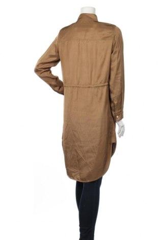 Дамски шлифер Massimo Dutti, Размер S, Цвят Кафяв, Ацетат, Цена 171,75лв.