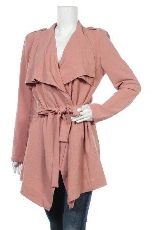 Дамски шлифер Object, Размер L, Цвят Розов, Полиестер, Цена 50,40лв.