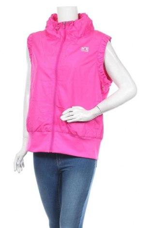 Vestă sport de femei, Mărime XL, Culoare Roz, Poliester, Preț 72,95 Lei
