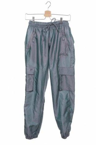 Pantaloni sport de femei Fila, Mărime XS, Culoare Albastru, 53% poliamidă, 47% poliester, Preț 194,90 Lei