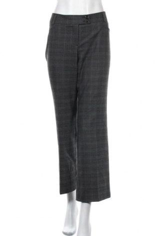 Дамски панталон S.Oliver, Размер M, Цвят Сив, 65% полиестер, 32% вискоза, 3% еластан, Цена 6,38лв.