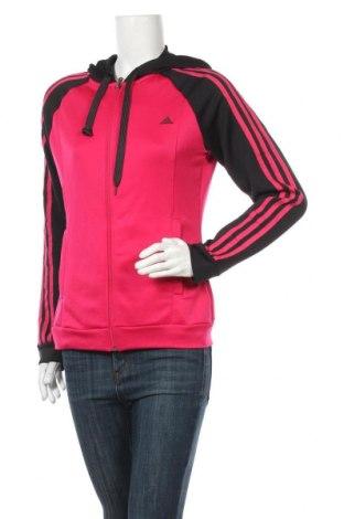 Hanorac de femei Adidas, Mărime M, Culoare Roz, Poliester, Preț 106,11 Lei