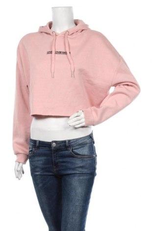 Γυναικείο φούτερ H&M Divided, Μέγεθος M, Χρώμα Ρόζ , 52% βαμβάκι, 48% πολυεστέρας, Τιμή 23,19€
