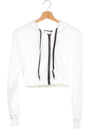 Дамски суичър SHEIN, Размер XS, Цвят Бял, 95% полиестер, 5% еластан, Цена 19,64лв.